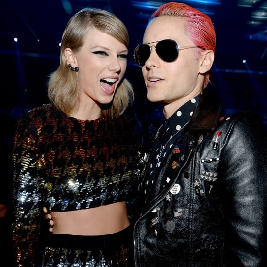 Taylor Swift With Other Celebrities at the MTV VMAs 2015