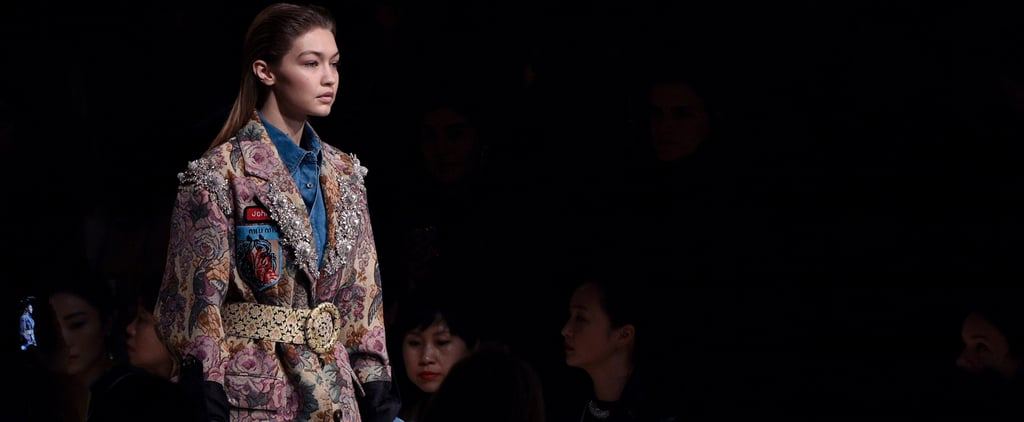 See Gigi Hadid Finish Fashion Month on the Miu Miu Runway