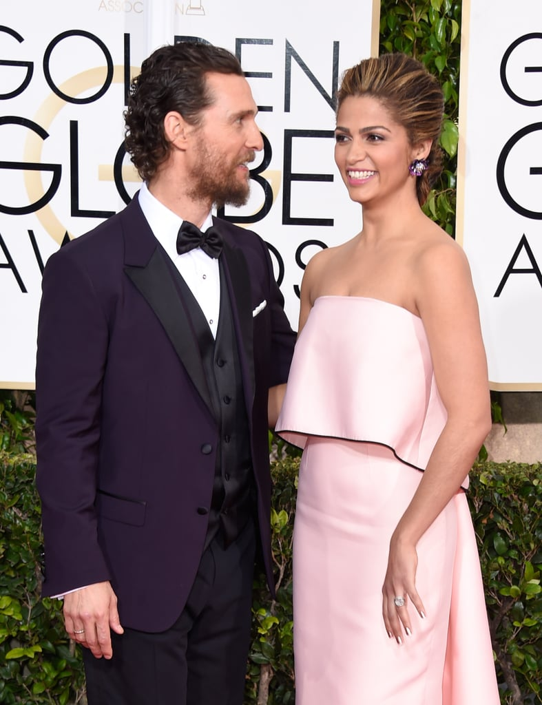 They shared sweet glances during the January 2015 Golden Globe Awards in LA.