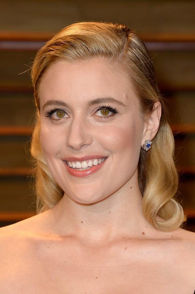 Greta Gerwig at Vanity Fair Party
