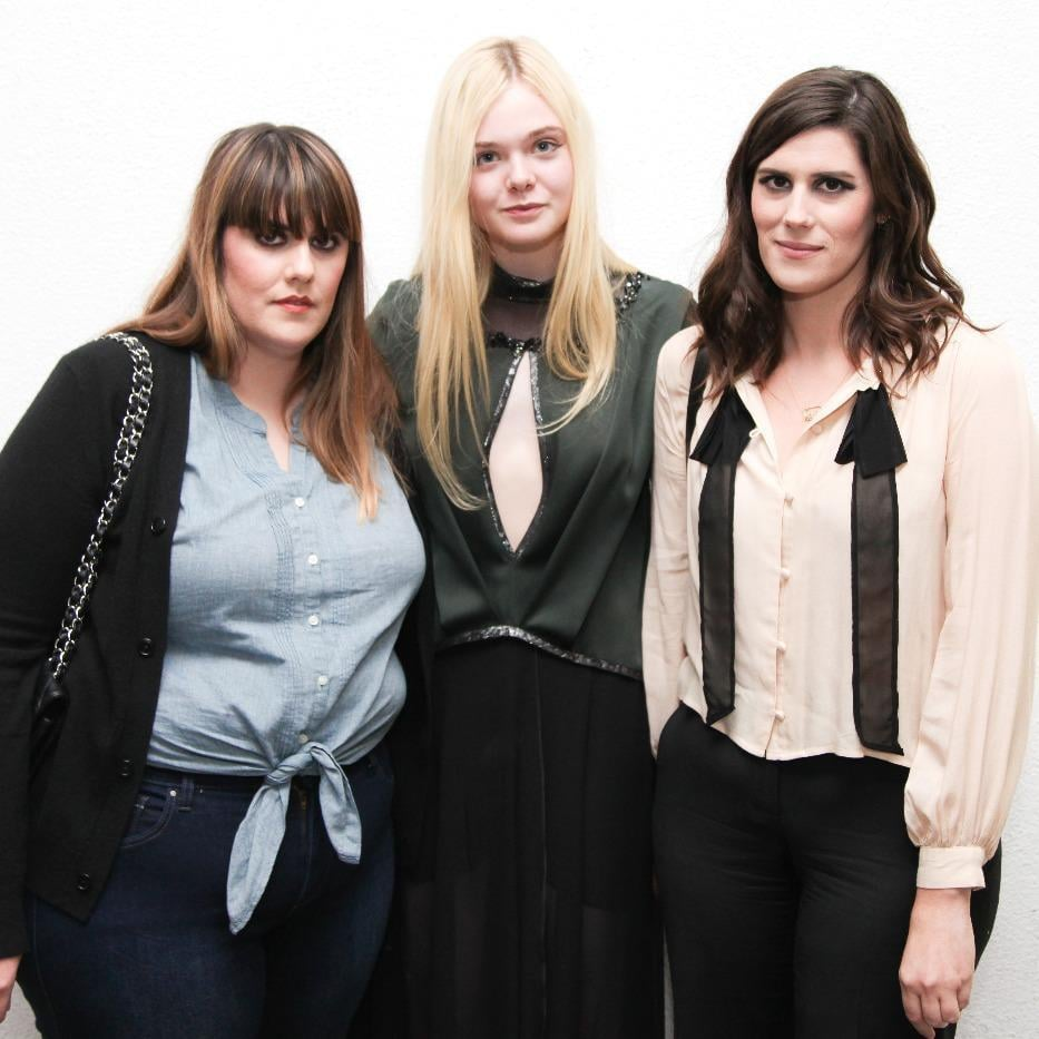 Kate Mulleavy, Elle Fanning, and Laura Mulleavy attended Chlo's first LA fashion show.