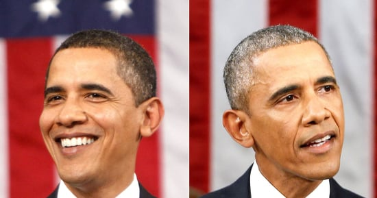President Barack Obama in 2009 vs. 2016 State of the Union: How He's Aged