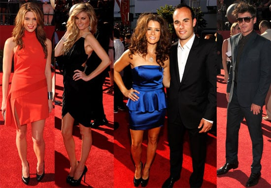 Pictures of Ashley Greene, Zac Efron, Marissa Miller, Brooklyn Decker at 2010 ESPY Awards