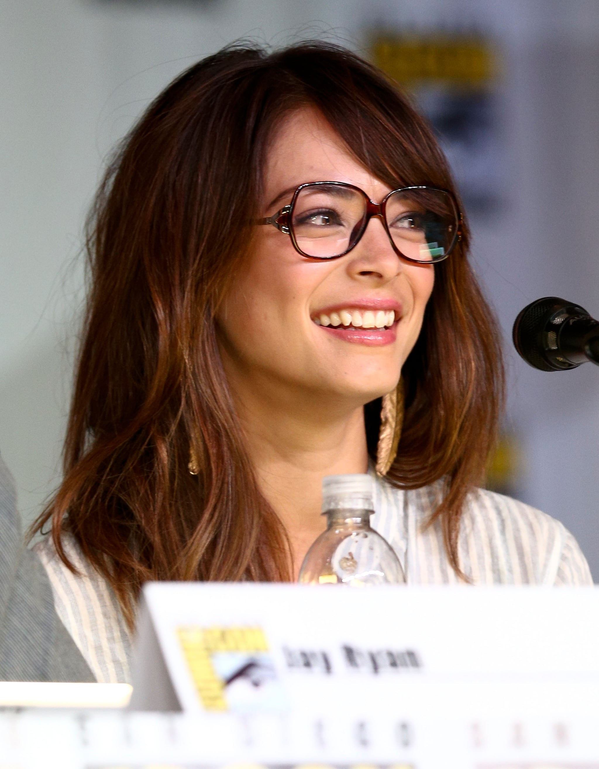 Kristin Kreuk looked adorable at the Beauty and the Beast panel Thursday night as part of Comic-Con in San Diego.