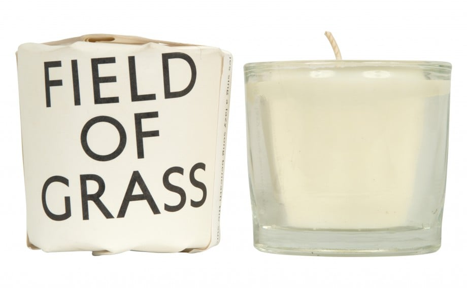 Create a glowing ambience both inside and out with this fragrant soy and beeswax candle ($19).