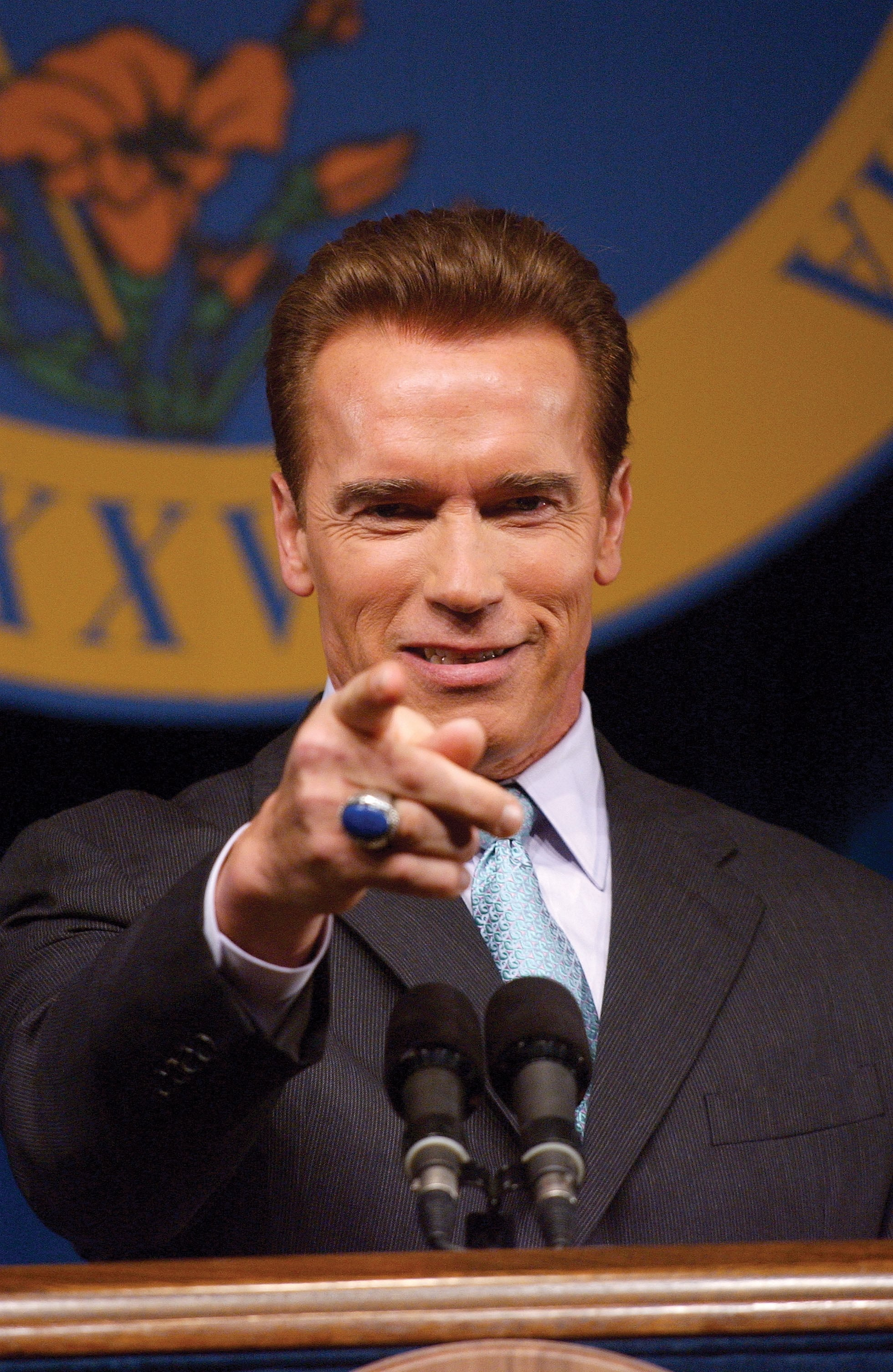 "Arnold Schwarzenegger earned the nickname ""Governator."""