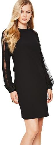 Definitions Lace Split Sleeve Dress