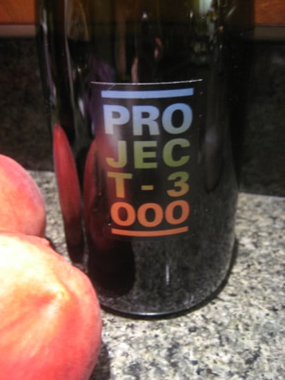 Happy Hour: Project 3000 Syrah