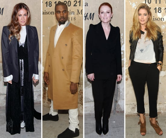 Kanye and SJP Link Up With H&M to Toast Margiela's Collection