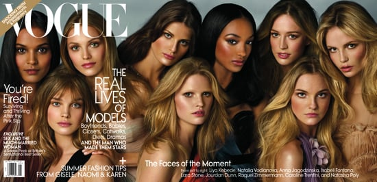 Vogue Pays Tribute to Model Muses for May 2009