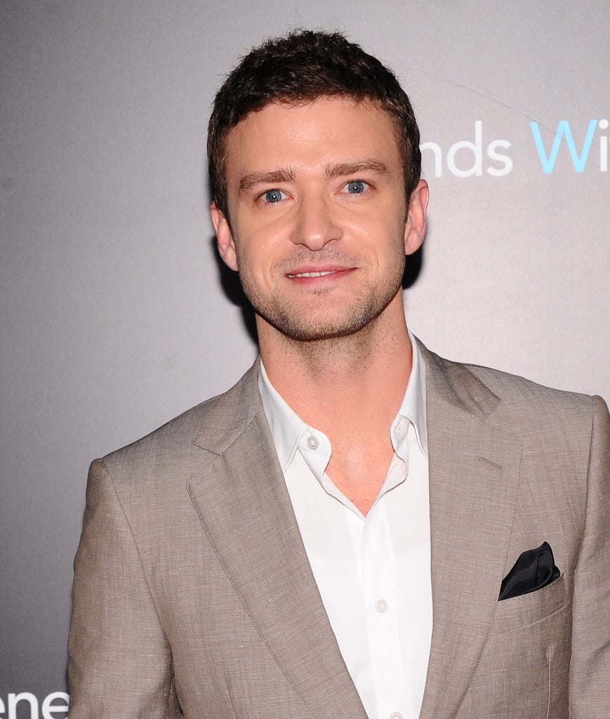 Justin Timberlake at Friends With Benefits premiere in NYC.
