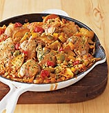 Fast & Easy Dinner: Arroz con Pollo with Apples