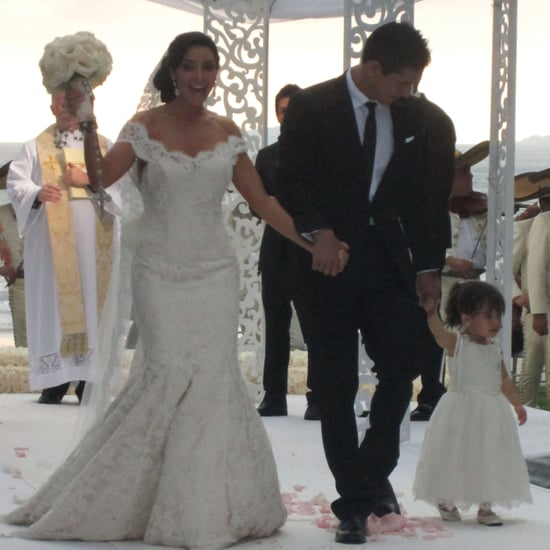 Mario Lopez and Courtney Mazza's Wedding Pictures