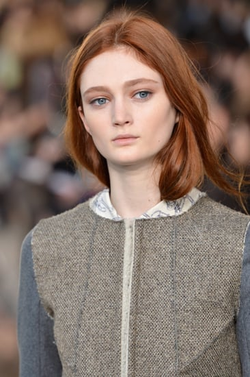 Tory Burch Fall 2014 Hair and Makeup | Runway Pictures