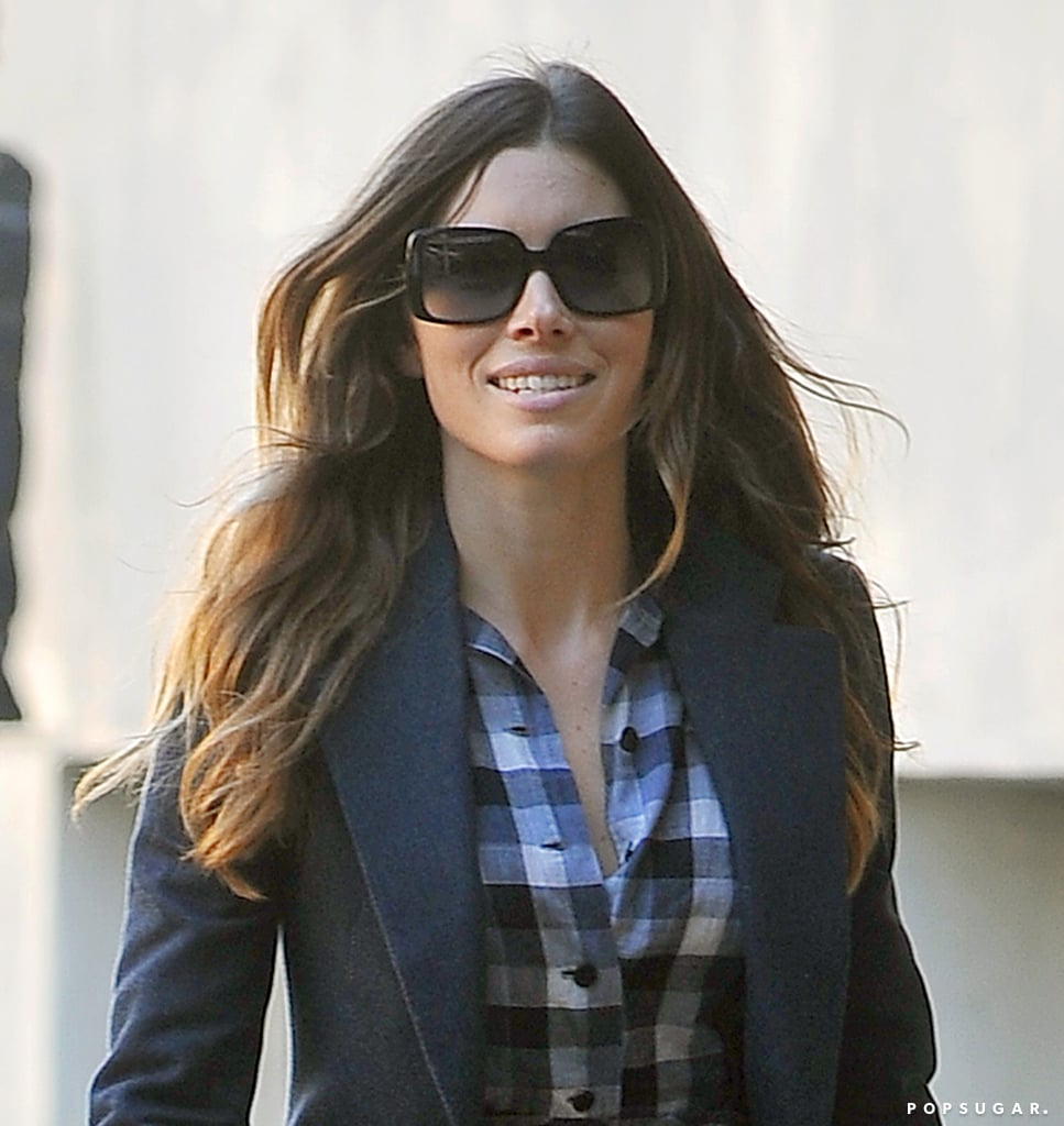 Jessica Biel Has a Lot to Smile About These Days