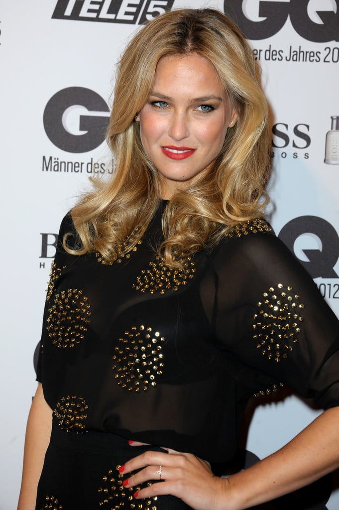 Bar Refaeli posed at the GQ Men of the Year Awards.