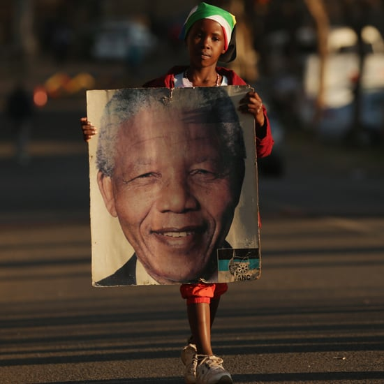 Nelson Mandela Supporters in South Africa