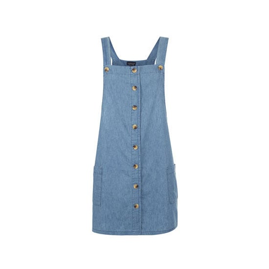 If you're brave enough to don a dress, make sure it'll go the distance in a utilitarian fabric like denim. Dress, $57, Topshop