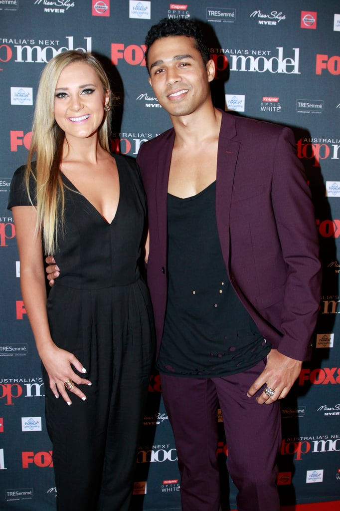 Brittany Cairns and Barry Southgate