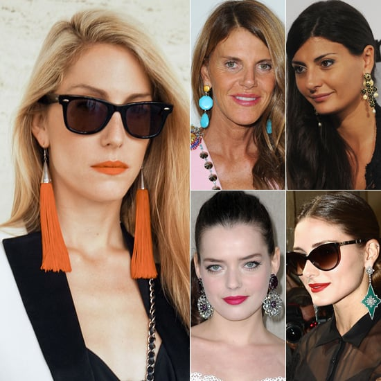 Spring 2012 Fashion Week Street Style Trends: Statement Earrings