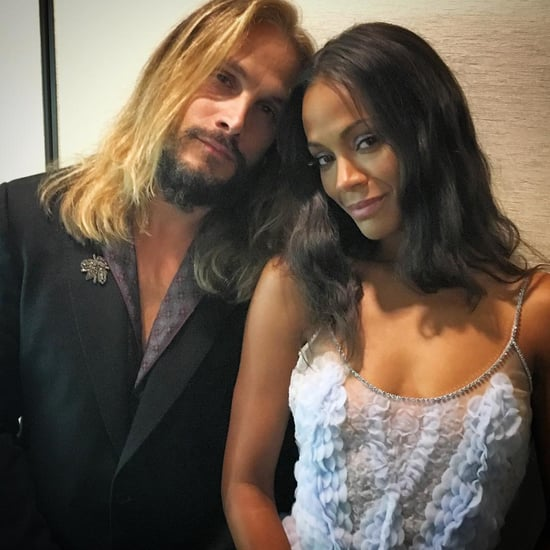 Zoe Saldana Dubsmash Video With Marco Perego and Her Twins