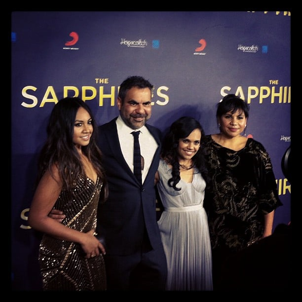 Jess went to the premiere of Aussie film, The Sapphires, and caght up with the gorgeous (and down-to-earth!) cast and director.