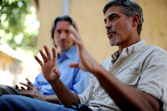 Pictures of George Clooney With a Goatee in Sudan 2011-01-09 22:40:00