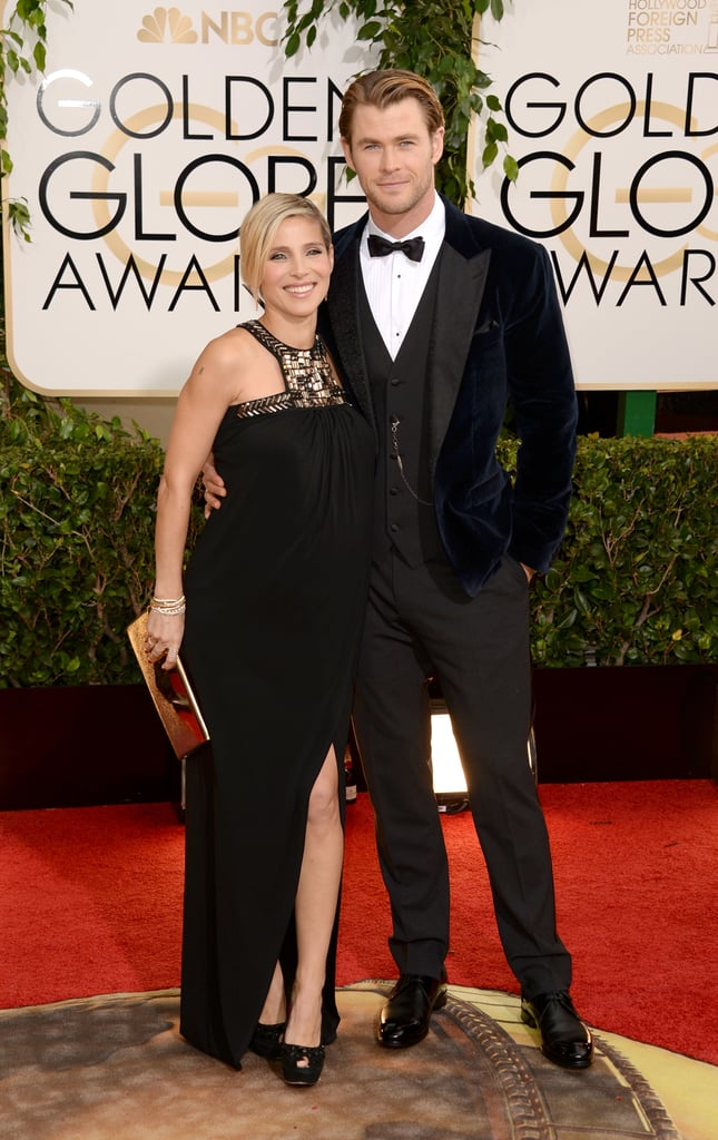 Chris Hemsworth and Elsa Pataky made a hot couple on the red carpet.