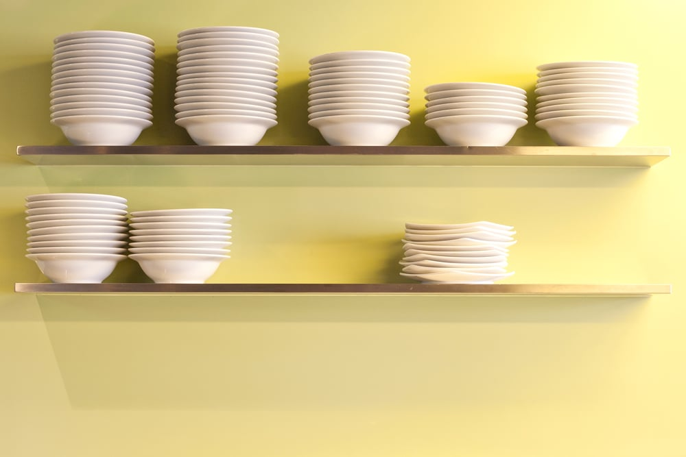 Stack Plates and Bowls
