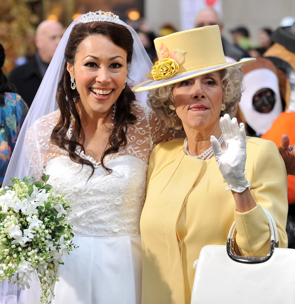 Ann Curry and Meredith Vieira in Halloween.