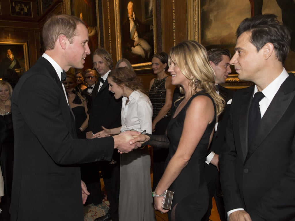 Kate Moss Flirts With Prince William, Because Life Is About Taking Chances