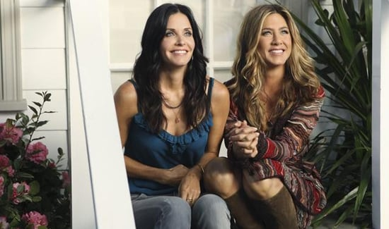 Cougar Town Season Premiere With Jennifer Aniston and Courteney Cox Reunion