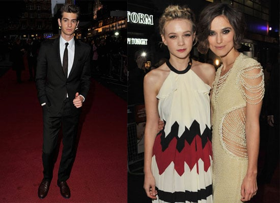 Carey Mulligan, Andrew Garfield and Keira Knightley at Never Let Me Go Premiere