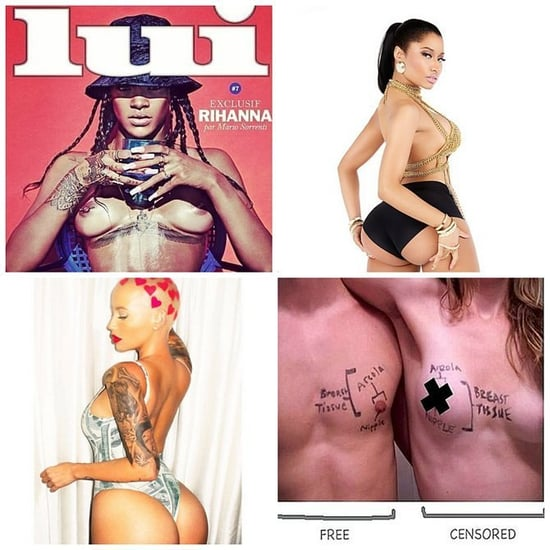 Was 2014 the Year of the Butt or The Year of the Nipple?