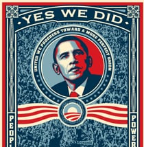Get a Free Obama Sticker!