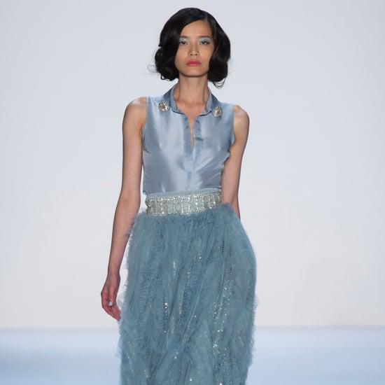 2014 Spring New York Fashion Week Runway Badgley Mischka