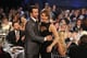 Bradley Cooper congratulated Jennifer Lawrence on her best actress win at the Critics' Choice Awards.