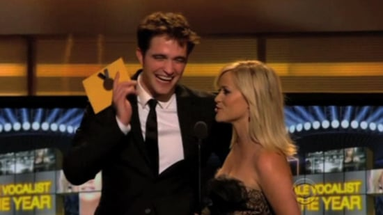 Video: Robert Pattinson and Reese Witherspoon at Academy of Country Music Awards, as Filming Starts For Breaking Dawn Wedding
