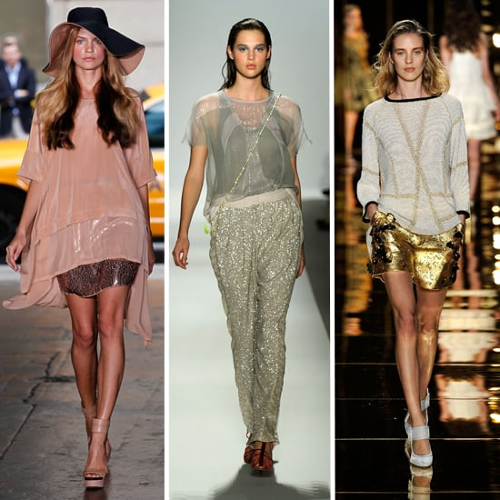 Spring 2012 Fashion Week Trend: Metallic