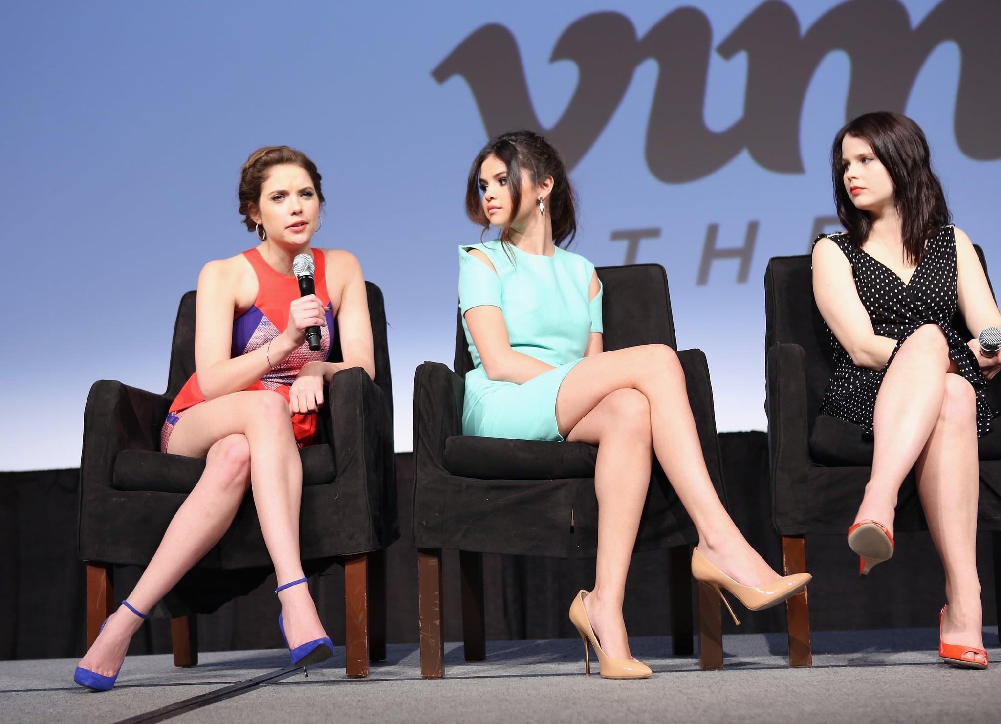 Ashley Benson, Selena Gomez, and Rachel Korine talked about their film at SXSW.