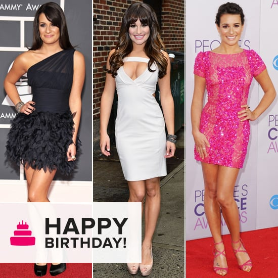 Stems Sell: See Lea Michele's Sexiest Mini Moments