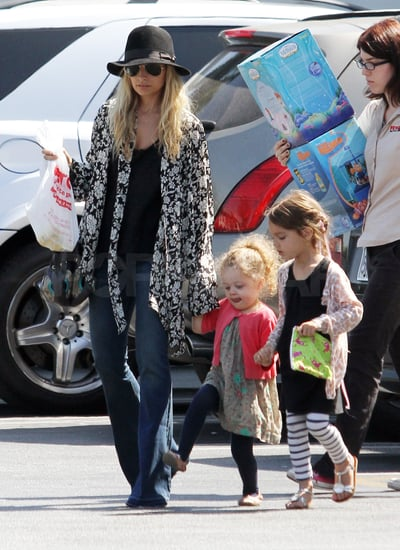 Nicole Richie Has a Girls' Day With Harlow Following a Beckham Baby Party