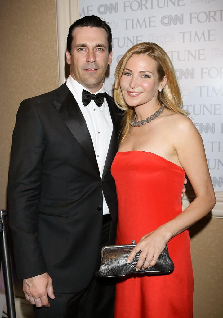 John Hamm and Jennifer Westfeldt