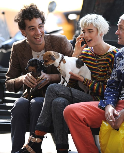 In the Spotlight: Agyness Deyn and Doggies