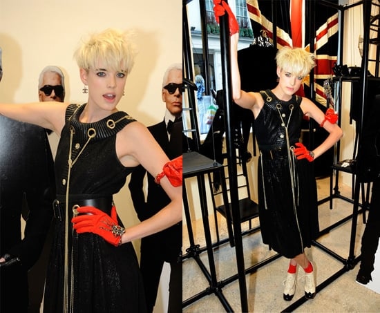 Love it or Hate it: Agyness Deyn at Chanel Opening