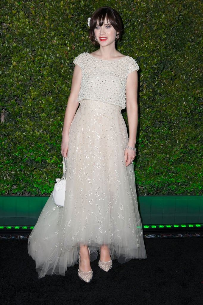 Who could forget this fairytale-like Oscar de la Renta gown that Zooey wore to the 2014 Golden Globes?