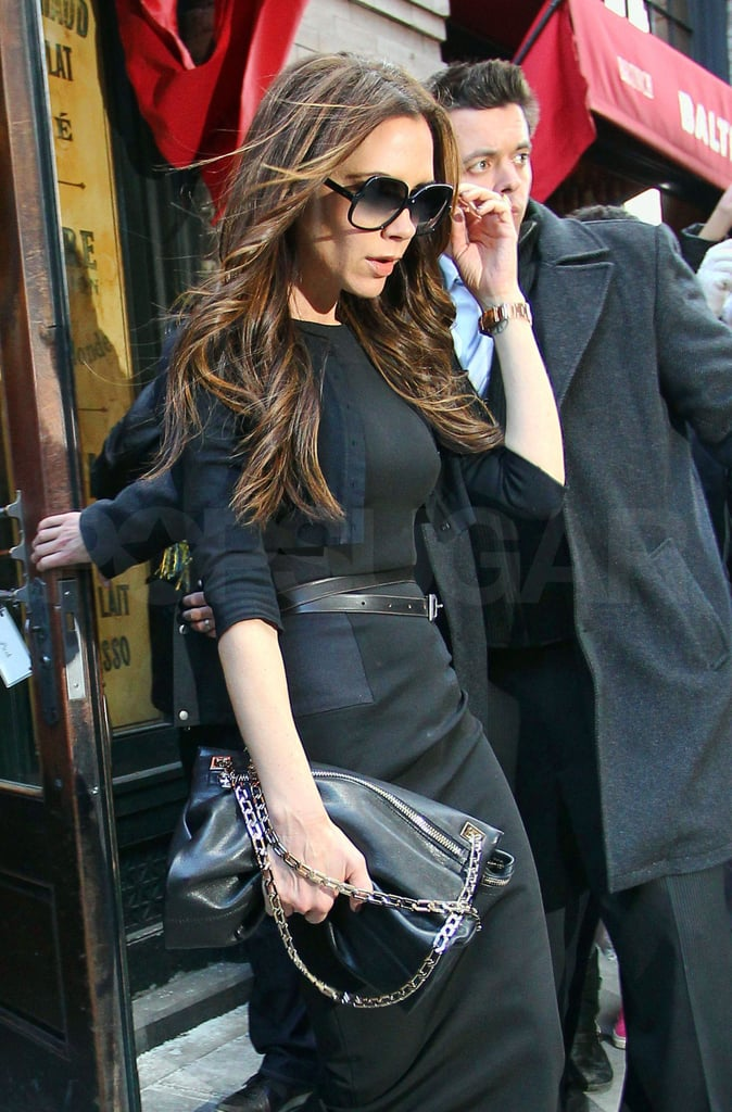 Victoria Beckham dined in NYC.