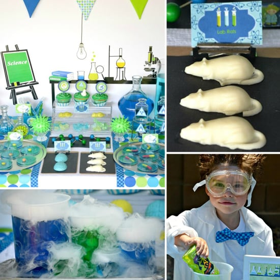 Explore and Explode! A Mad-Scientist Birthday Party