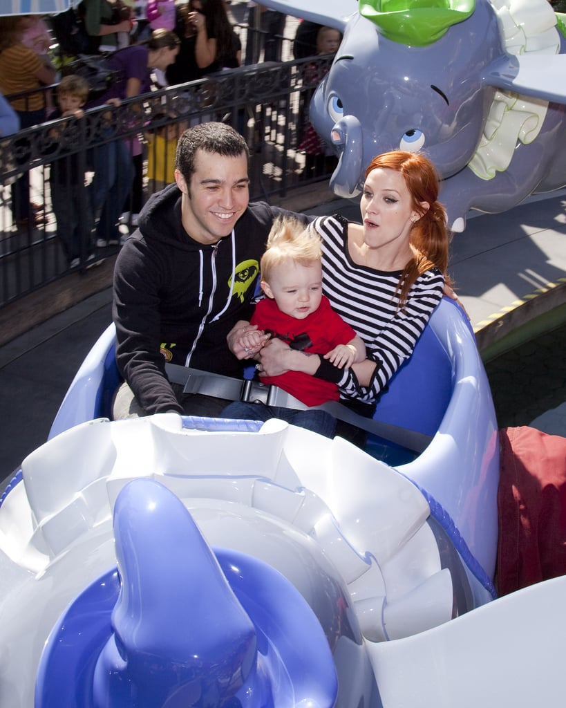Photos of Ashlee Simpson, Pete Wentz and Bronx at Disneyland
