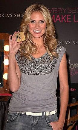 Heidi Klum Shares Her Makeup Routine